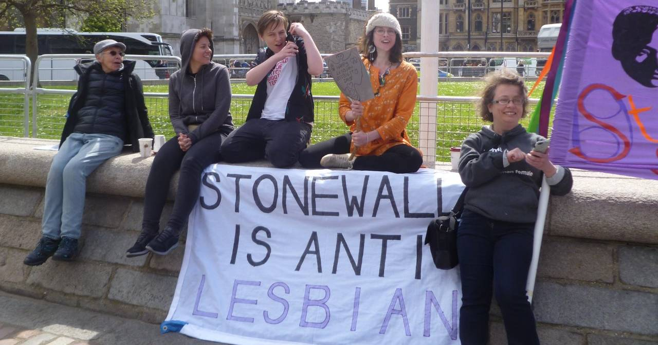 Stonewall protest
