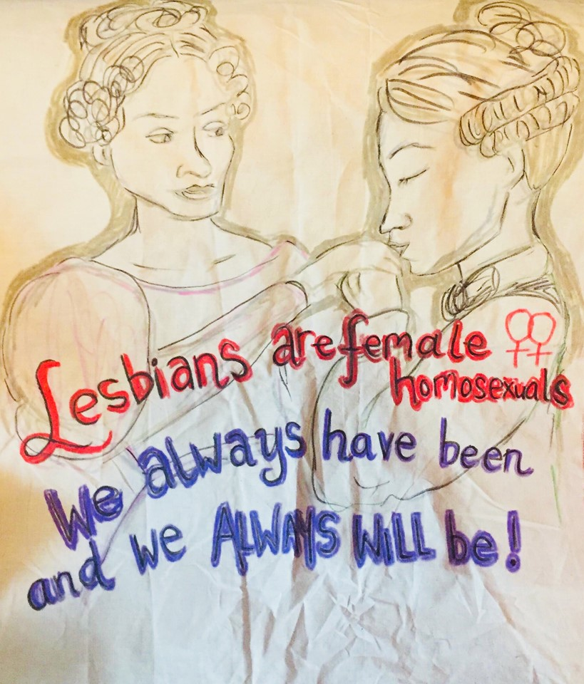 Lesbian are female homosexuals