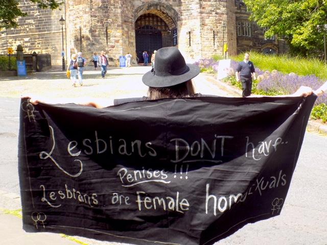 Lesbians don't have penises