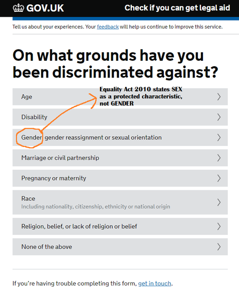 Grounds You've Been Discriminated Against