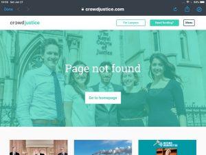 LGB Alliance crowdfunder 404